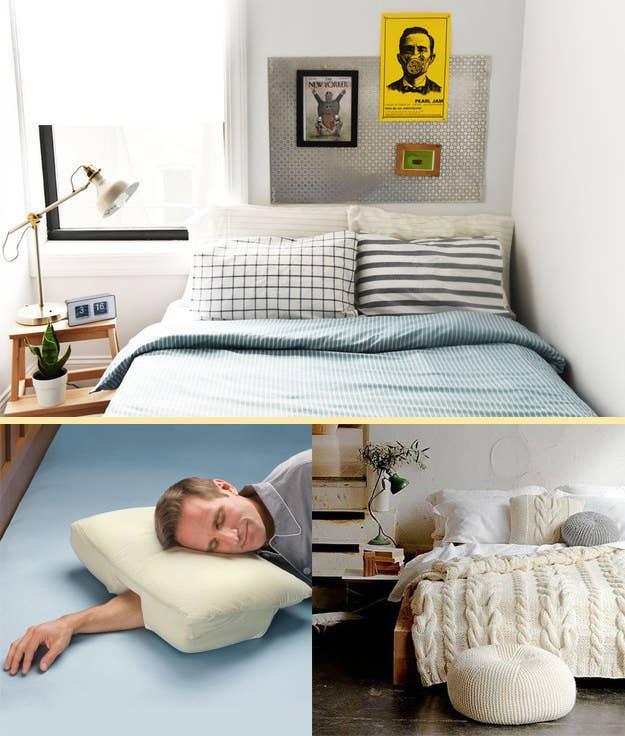 Gemutliches Bett