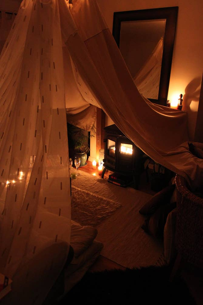 9 You Can Even Give Your Cozy Little Cinema Vaulted Ceilings
