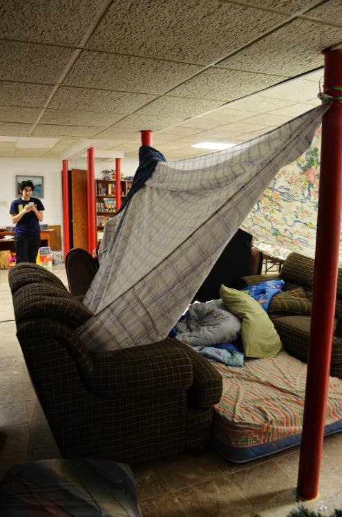 Princemortistumblr Post 113290070025 Jim And I Made A One Hella Blanket Fort Over The