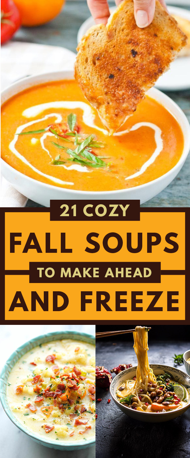 Easy soup recipes to freeze