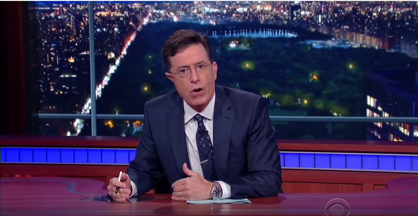 Stephen Colbert's Monologue On The Oregon Shootings Was Powerful And Moving