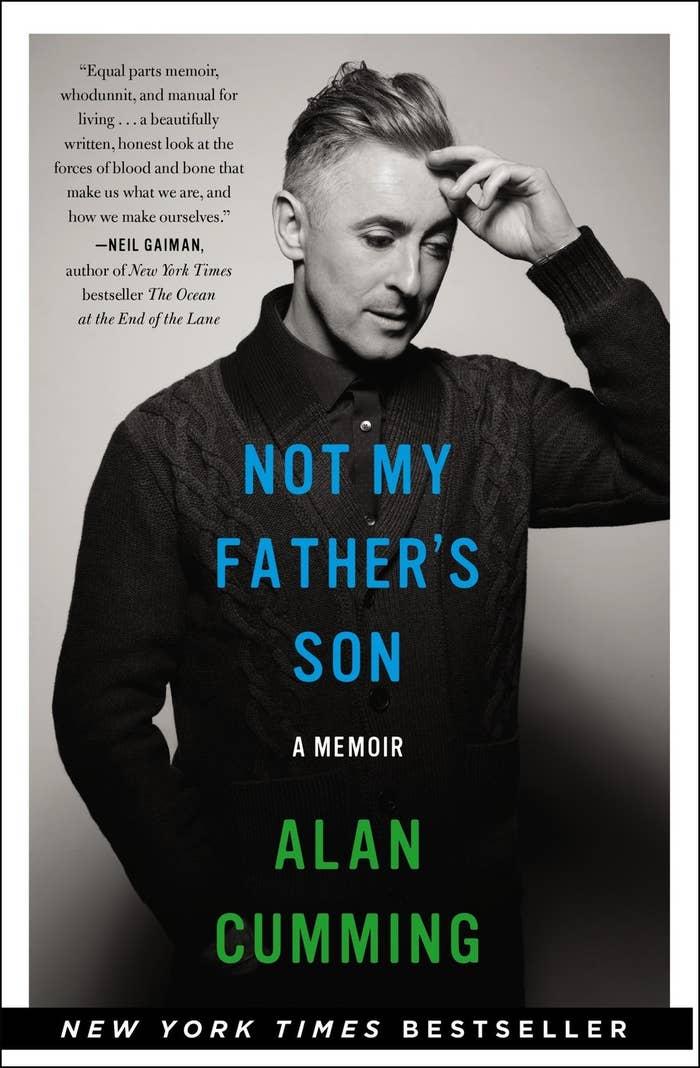Alan Cumming, acclaimed actor of the stage and screen is making an appearance on bookshelves in his new book, Not My Father's Son: A Memoir. Alan is a star known for embracing his diversity and fearlessness, and masking the incredibly painful childhood his father made him endure. Told with humor, wit and insight, Alan captivates readers with stories of his troubled past balanced with stories of his successful stardom. Grab a box of tissues because this book is going to make you cry tears of sadness and laughter.