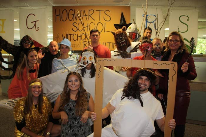 Featuring: Aragog, Crookshanks, the Golden Snitch, Harry's Patronus, Hedwig, Fleur Delaceur, a Dementor, Viktor Crum, Lupin, the Fat Lady, Fawkes, Peter Pettigrew/Scabbers, Nagini, the Womping Willow, and Rita Skeeter.