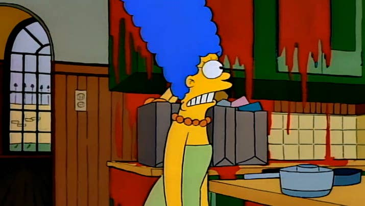 episode treehouse of horror iyear 1990bad dream house - Biggest Treehouse In The World 2014