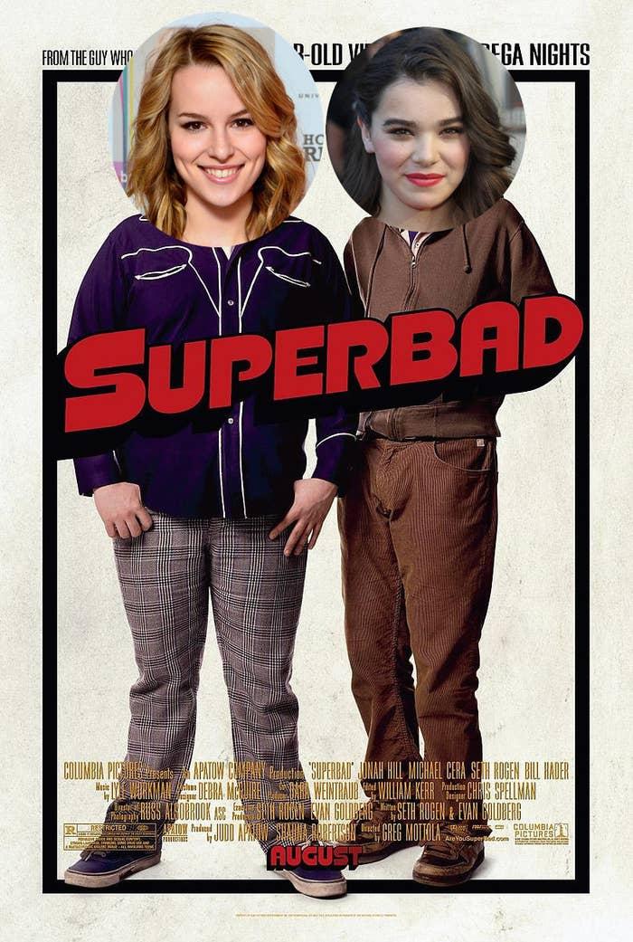 Starring Bridgit Mendler and Hailee Steinfeld.