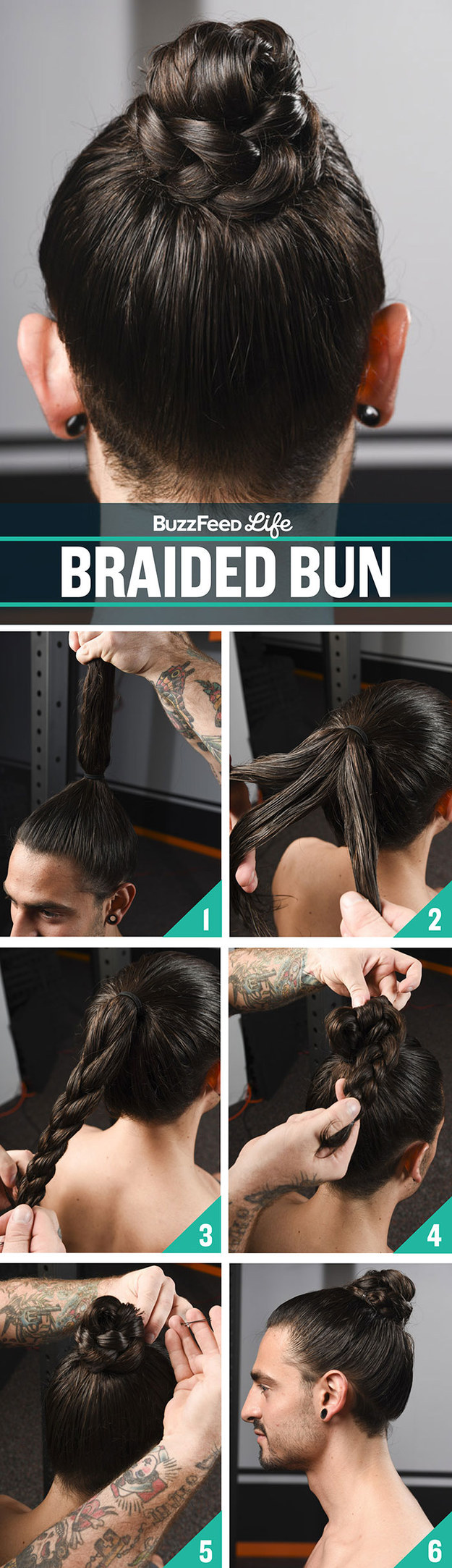 Groovy 8 Ways To Style Your Hair For The Gym That Are Actually Awesome Short Hairstyles Gunalazisus
