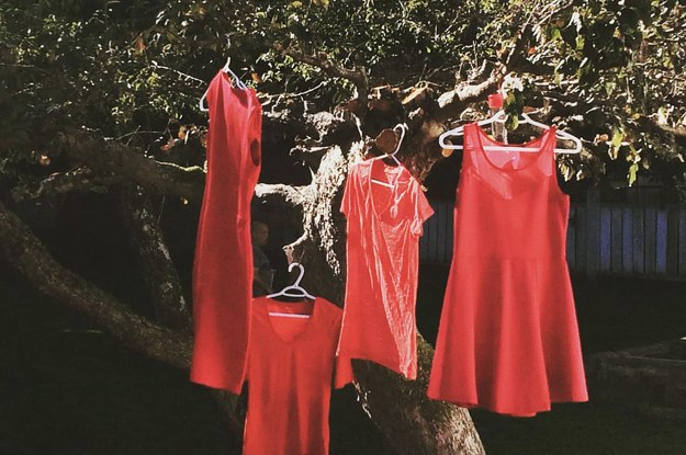 These Red Dresses Are A Haunting Reminder Of Missing And Murdered ...