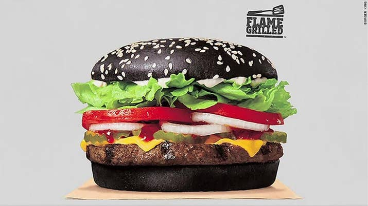 People Who Ate Burger King's Black Whopper Said It Turned Their ...