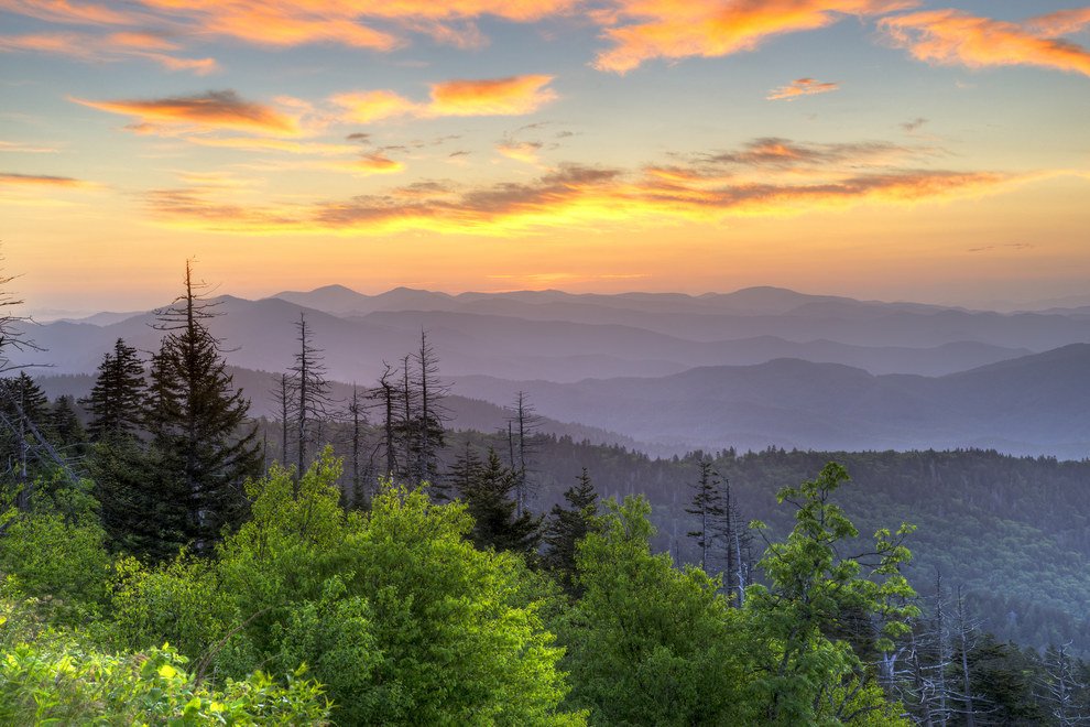 9. Great Smoky Mountains, North Carolina and Tennessee