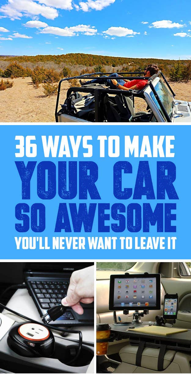 Cool Things To Put In Your Car Easy Craft Ideas