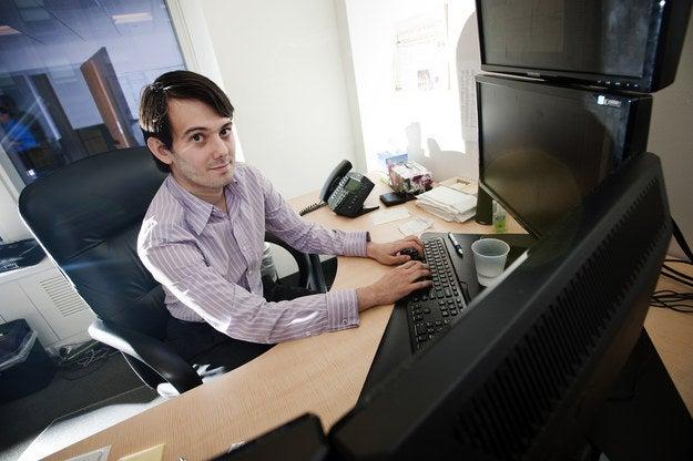 Martin Shkreli, CEO of Turing Pharmaceuticals