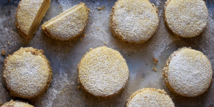 Lemony shortbread plus creamy hazelnut will make you forget all about Nutella.Get the recipe here.