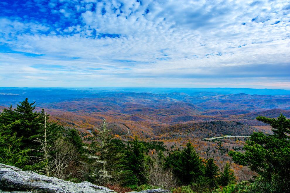 5. Blue Ridge Parkway, Virginia and North Carolina