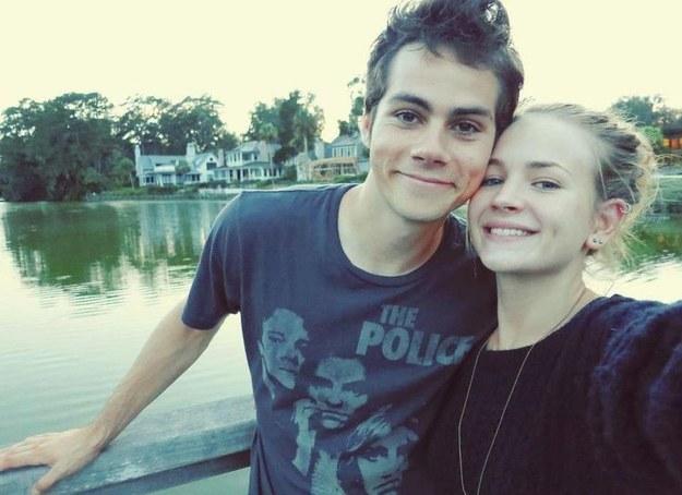 Dylan O'Brien and his Girlfriend Britt Robertson