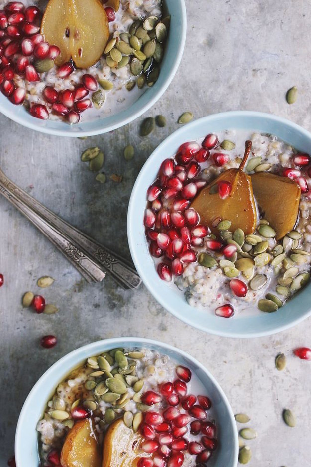 how to cut a pomegranate buzzfeed