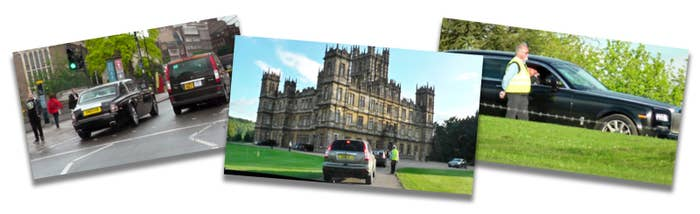 Allirajah's Rolls-Royce was followed to Highclere Castle, where the Conservative party frequently holds fundraising events.
