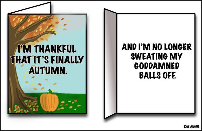 11 Greeting Cards We Desperately Need For Canadian Thanksgiving
