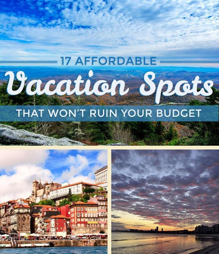 Heres Where Budget Travelers Actually Go On Vacation - Budget vacations