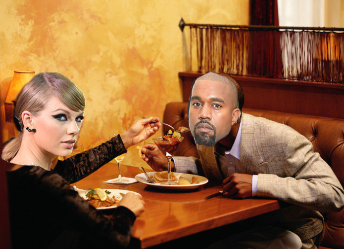 Kanye West Unknowingly Fell In Love With A Beck Song While At A Dinner With Taylor Swift