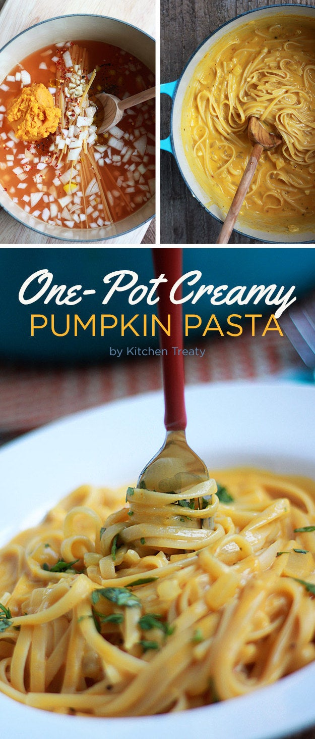 A light, quick, and filling weeknight pasta recipe for anybody who loves fall. Recipe here.