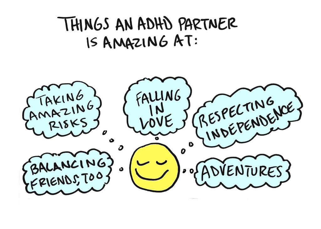 Dating someone with adhd and anxiety