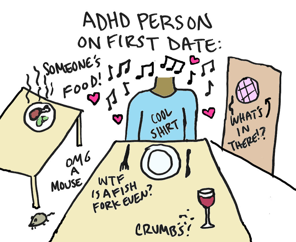 Things to know before dating someone with adhd