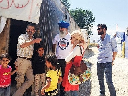 According to Khalsa Aid, they have previously dispatched relief teams to European Union borders across Serbia, Croatia, and Greece to support local governments and national charities by providing any and all aid they can.