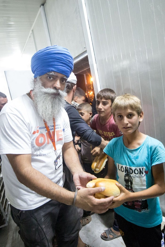 """""""In parts of the Middle East I have been mistaken for ISIS given my external appearance as a practising Sikh,"""" Singh said. """"People soon realise we are there to help and that you should think twice before judging a book by its cover."""""""