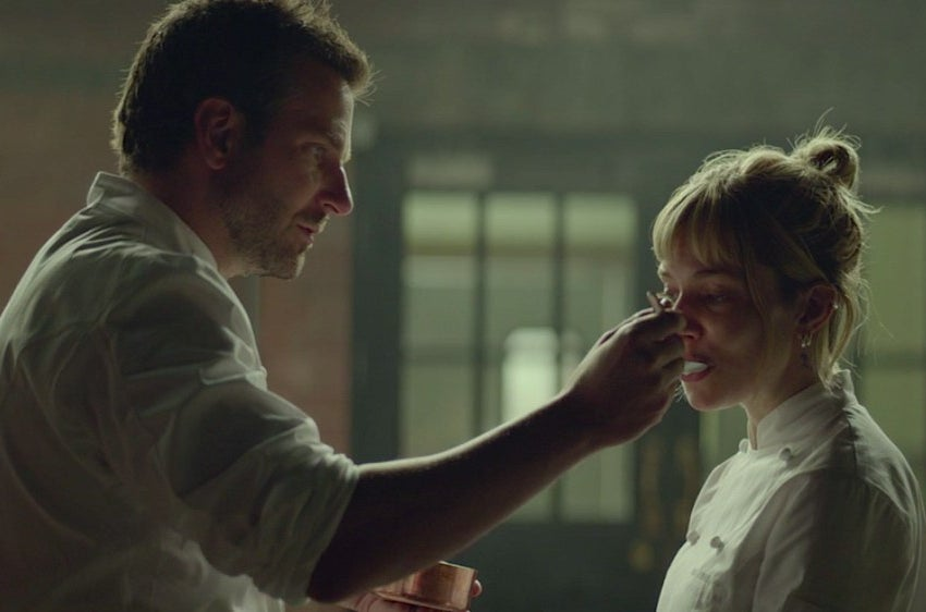 Cooper and Sienna Miller in Burnt.