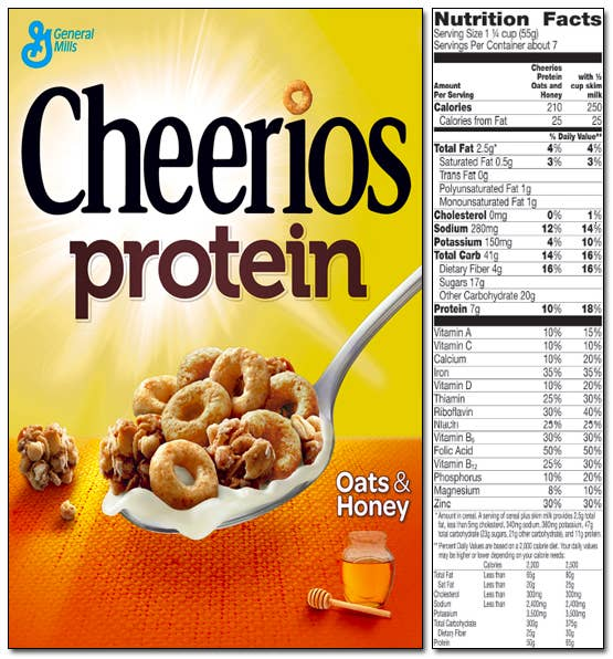 Being Sued Over Cheerios Protein Claims