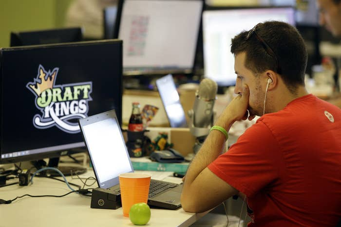 DraftKings company offices in Boston.