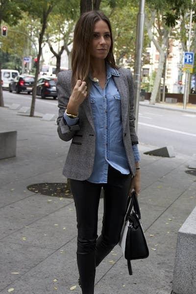 40ad77fc78 18 Looks ideales para las chicas que son felices usando solo ...