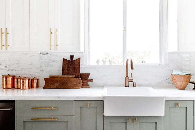 You Can Also Use Marble Contact Paper ($25) For A Chic DIY Backsplash.