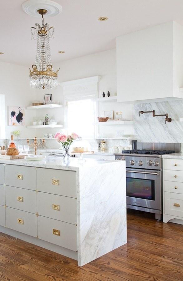 cocina mármol