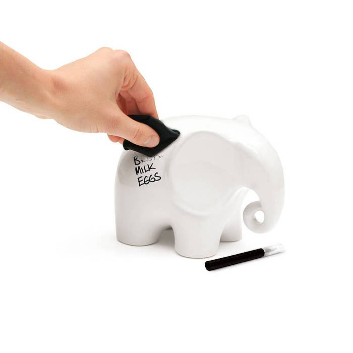 Because an elephant never forgets, get it? You can actually get it here.
