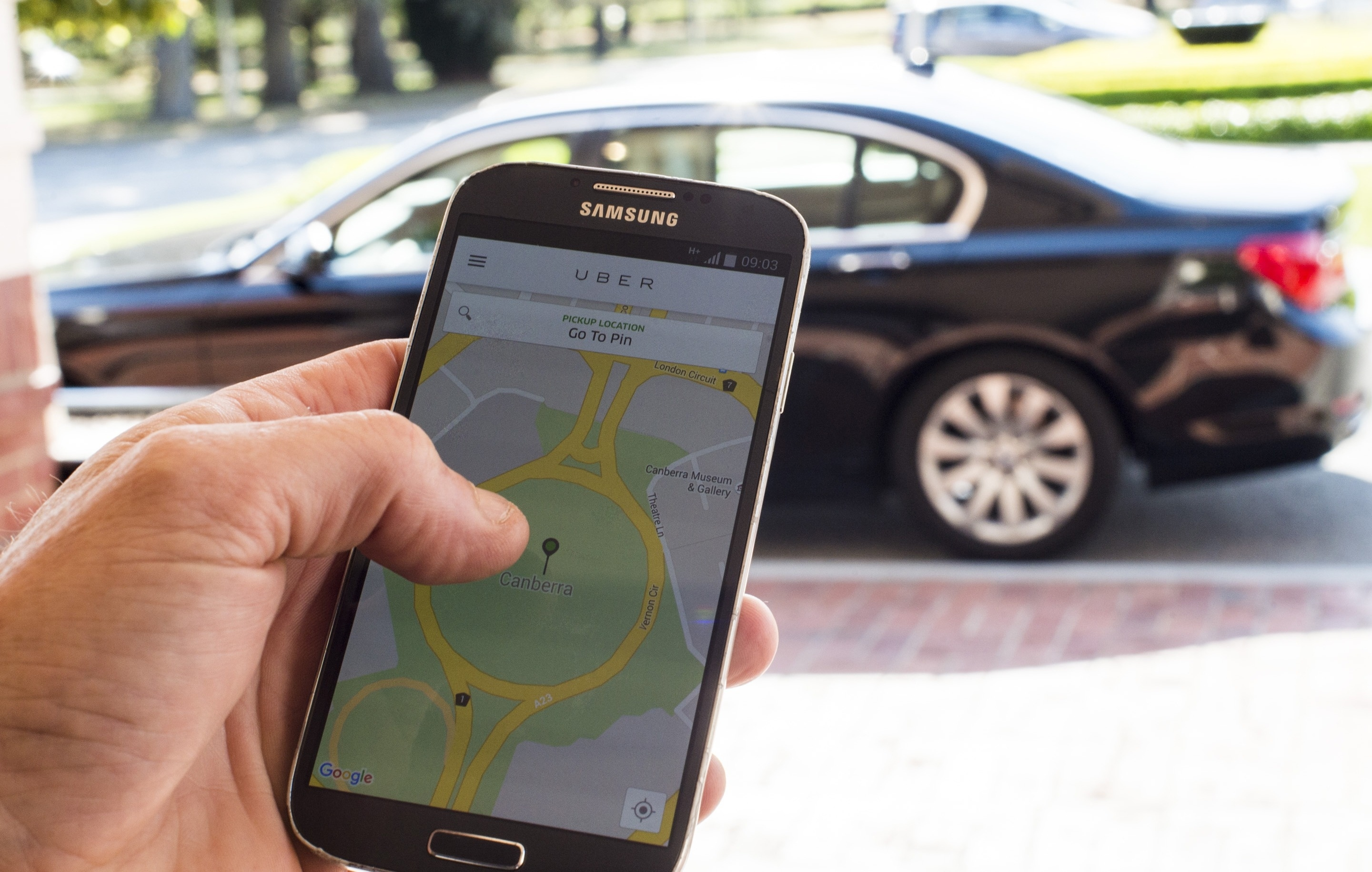 Uber Partners With TomTom To Help With Navigation