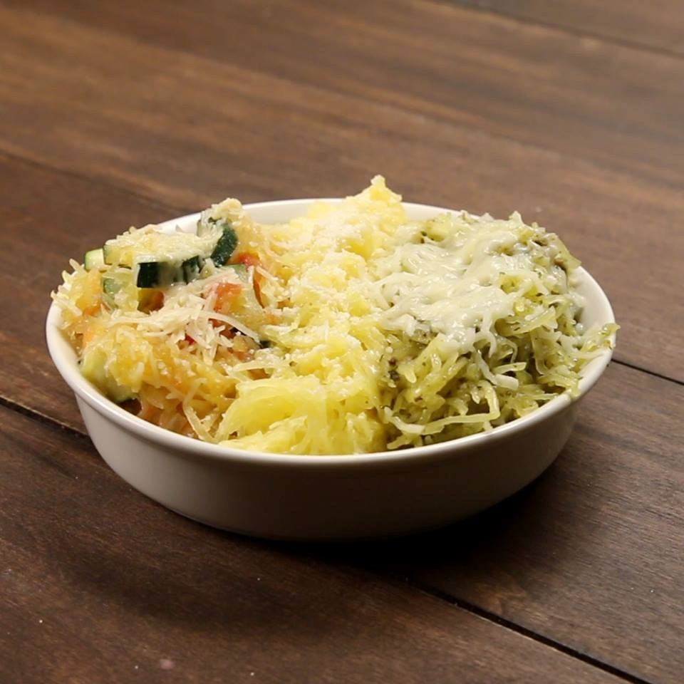 3 Ways To Make Spaghetti Squash Pasta