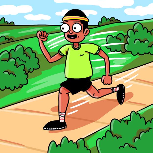 Actually running