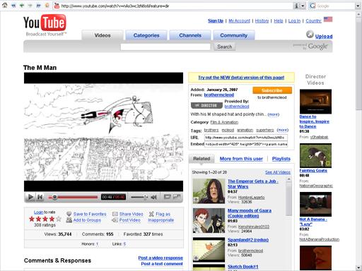 O YouTube nem existia direito, e a qualidade dos vídeos era um lixo.