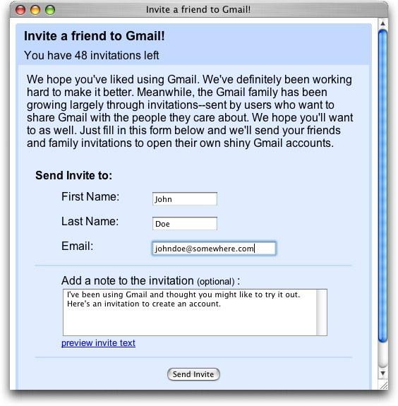 Enquanto hoje quase ninguém mais usa e-mail fora do trabalho, em 2005 o pessoal SE ESTAPEAVA pra conseguir um CONVITE pro GMAIL.