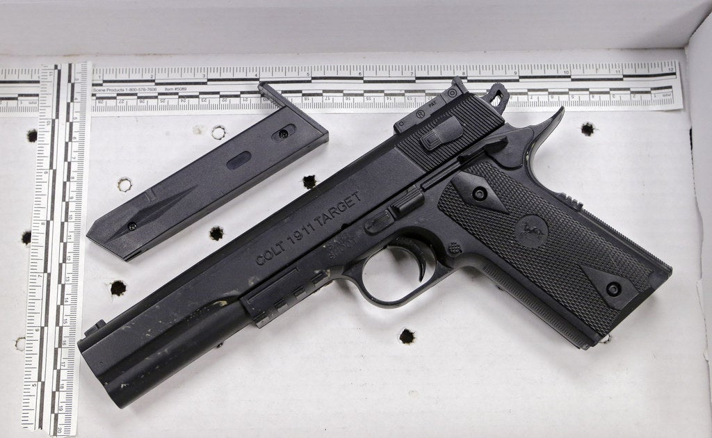 Tamir Rice's fake handgun