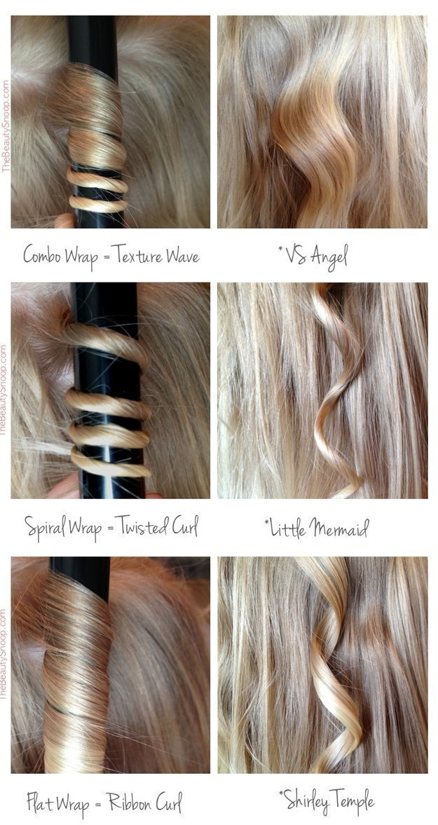 Learn how to use your curling iron to get the curls you want.