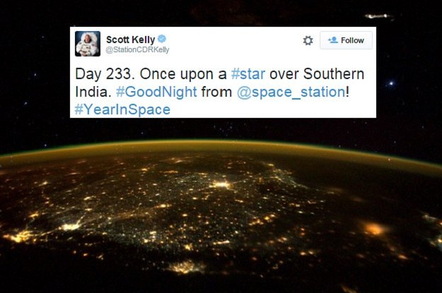 NASA Just Released A Breathtaking Photo Of Southern India Taken From Space
