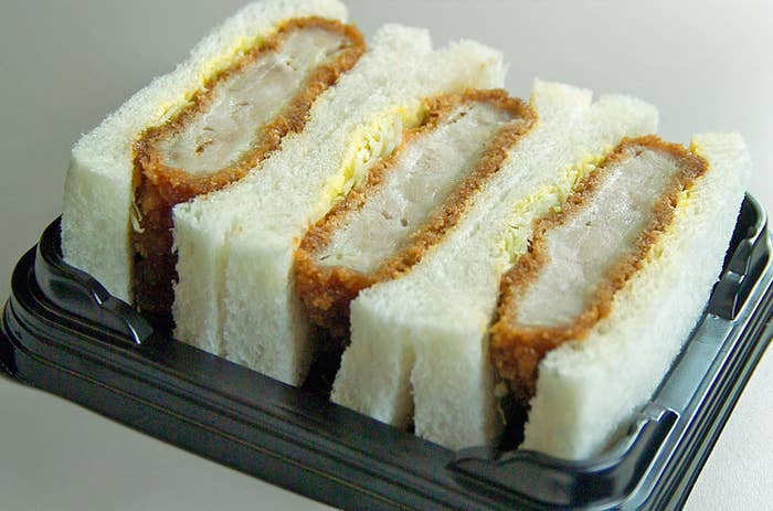 That's right. Chicken or pork katsu. In sandwiches. Bury me now. I am done.