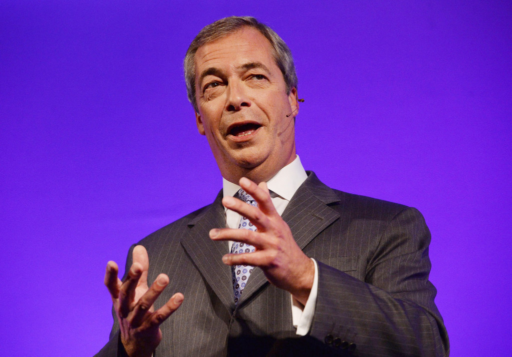Nigel Farage Calls For British Muslims To Choose UK Over Faith After Paris Attacks