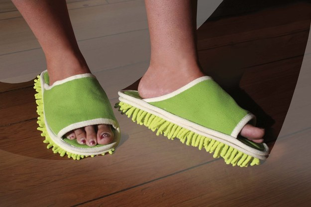 These double-duty slippers ($6).