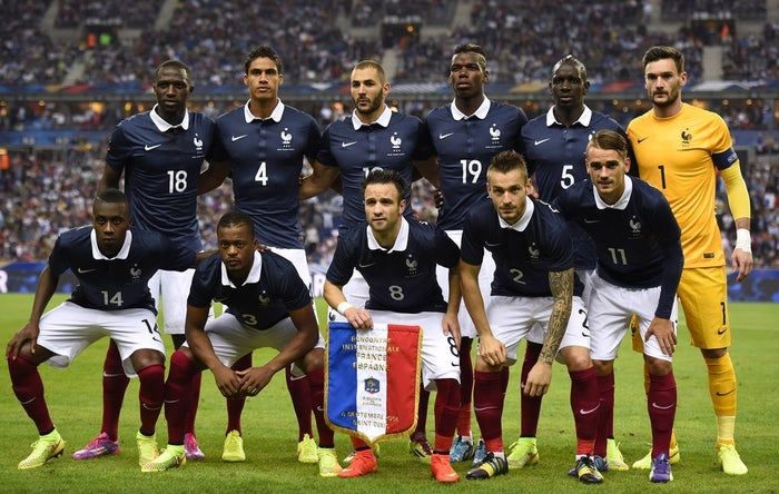 Home fans have been encouraged to sing along with the French anthem in solidarity with France after terror attacks claimed the lives of at least 129 people in Paris on Friday night.