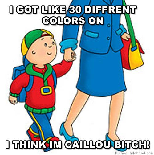 18 Reasons Why Parents Can't Stand Caillou