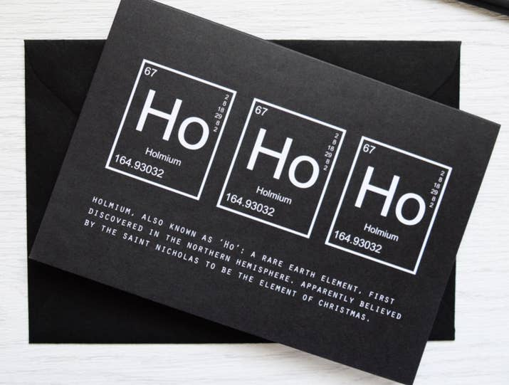 27 gifts only math and science nerds will appreciate and a card to wish you happy holmium days reheart Gallery