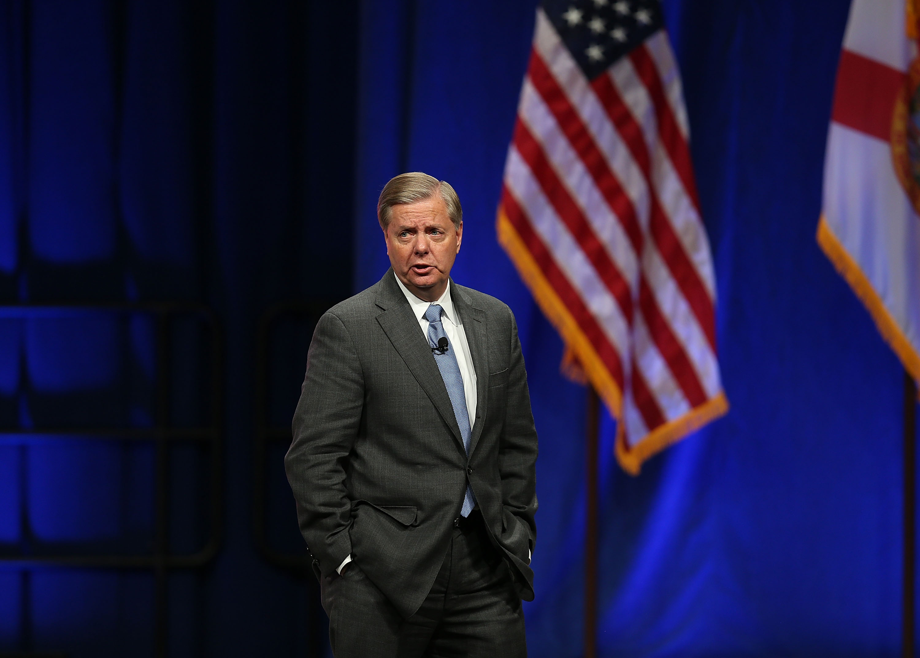 """Lindsey Graham: Ted Cruz, Rand Paul Won't Stop ISIS By """"Yelling About Refugees"""""""